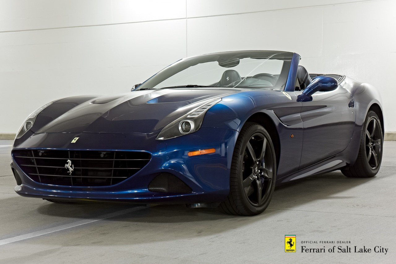 certified pre owned 2015 ferrari california t convertible in salt lake city 1ku0245 maserati. Black Bedroom Furniture Sets. Home Design Ideas