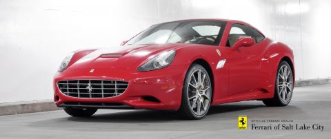 Certified Pre-Owned 2014 Ferrari California